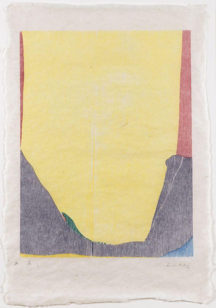 Gravure Sur Bois Frankenthaler - East and Beyond