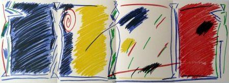 Lithographie Kuroda - East/West Pentures i diuixos