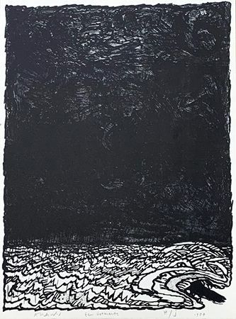 Lithographie Alechinsky - Eau dormante
