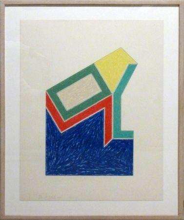 Lithographie Stella -  Eccentric Polygons - Moultonville
