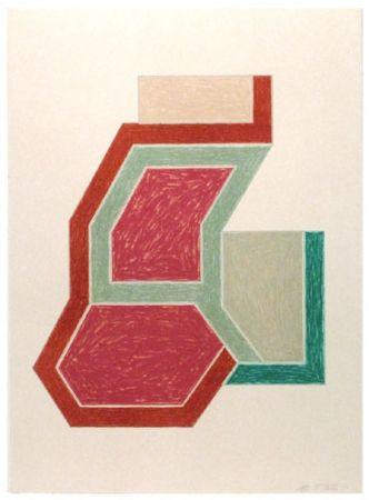 Lithographie Stella -  Eccentric Polygons - Sunapee