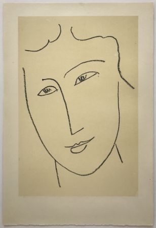 Lithographie Matisse - Echos I