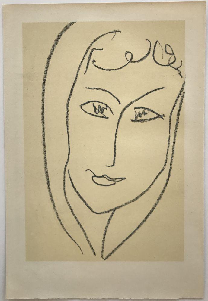 Lithographie Matisse - Echos II