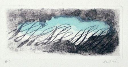 Eau-Forte Et Aquatinte Fautrier - Eclaircie verte