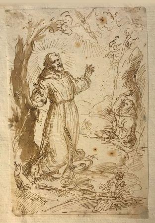 Aucune Technique Anonyme - Ecole italienne, XVIIIe.  Saint François