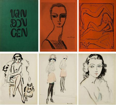 Livre Illustré Van Dongen - Ed. Des Courières : VAN DONGEN (1925) Exemplaire sur Japon.