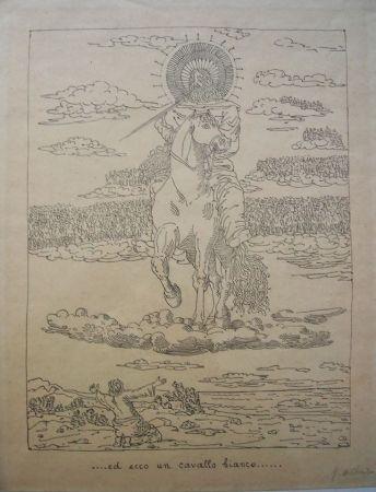 Lithographie De Chirico - Ed ecco un cavallo bianco