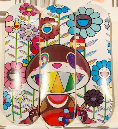 Sérigraphie Murakami - Eden Skateboard Deck (Set of 3)