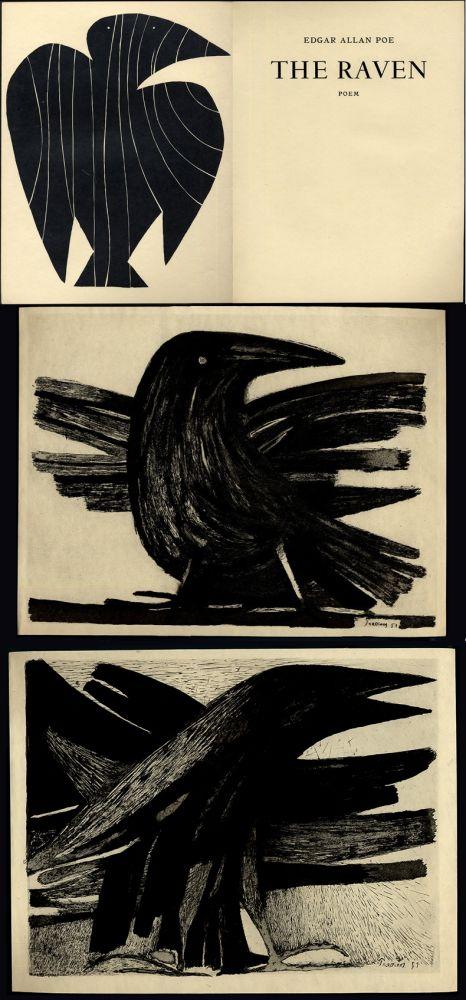 Livre Illustré Prassinos - Edgar Allan Poe. THE RAVEN
