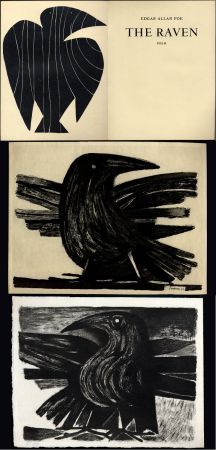 Livre Illustré Prassinos - Edgar Allan POE. THE RAVEN