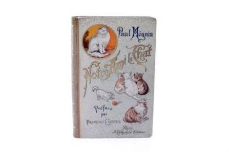 Livre Illustré Manet - Edouard Manet/ Paul Mégnin. Notre ami le chat. 1899.