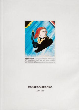 Livre Illustré Arroyo - Eduardo Arroyo: Carteles