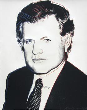 Sérigraphie Warhol - Edward Kennedy