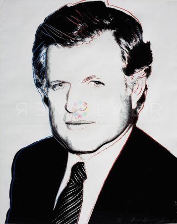 Sérigraphie Warhol - Edward Kennedy (FS II.240)