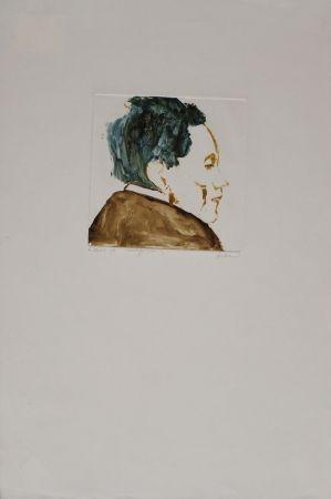 Monotype Baskin - Egon Schiele