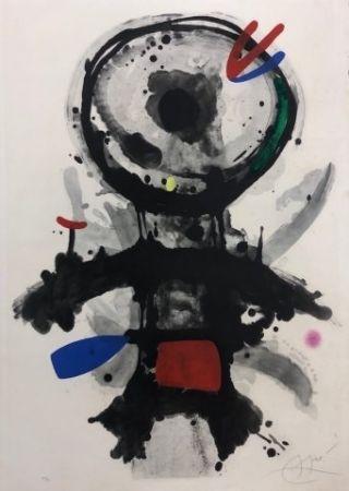 Eau-Forte Miró - El angel acribillado