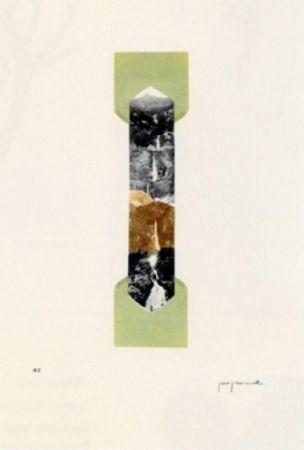 Lithographie Perejaume - El bosc a casa-4
