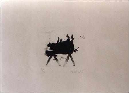 Lithographie Barcelo - El Cerdito