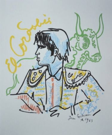 Lithographie Cocteau - El Cordobès