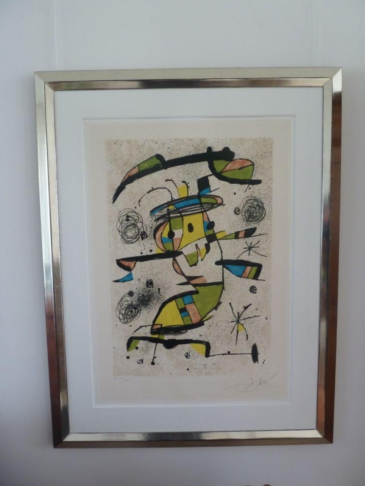 Lithographie Miró - El Dancaire