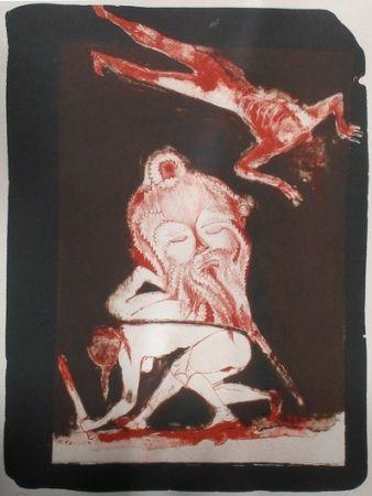 Lithographie Toledo - El decapitado