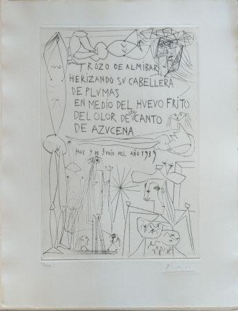 Livre Illustré Picasso - El entierro del Conde de Orgaz