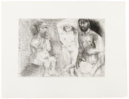Livre Illustré Picasso - EL ENTIERRO DEL CONDE DE ORGAZ. 13 gravures originales (1969).