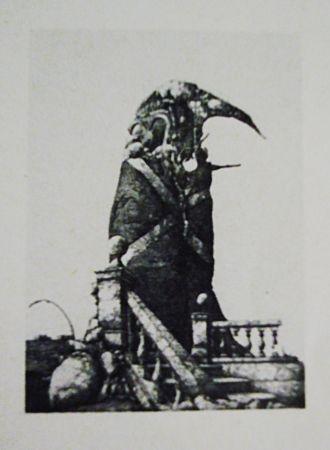 Eau-Forte Et Aquatinte Hernandez - El monumento inacabado