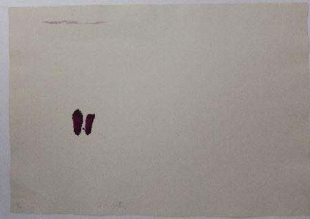 Lithographie Tàpies - El Pa a la Barca 3