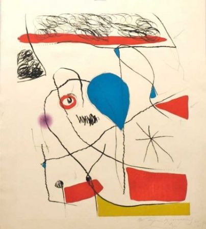 Eau-Forte Et Aquatinte Miró - El Pi De Formentor