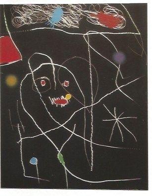Gravure Miró - El Pi (Elpe) de Formentor