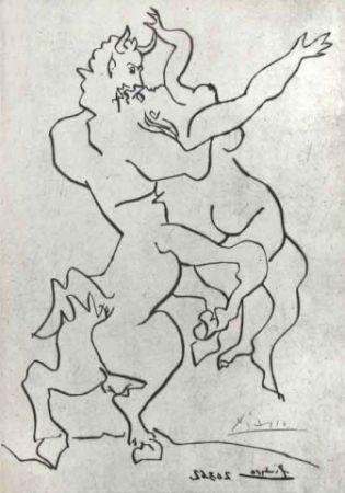 Pointe-Sèche Picasso - El rapto de Jezabel por Quirón El Centauro I