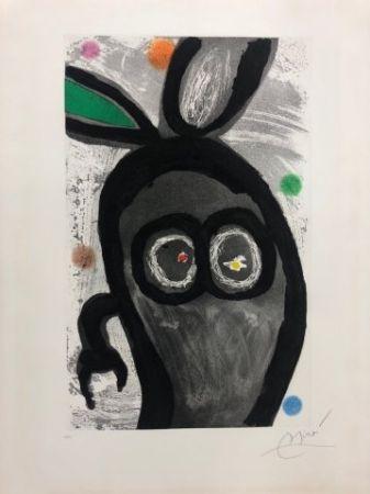 Eau-Forte Et Aquatinte Miró - El rey de los conejos