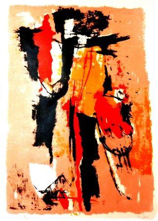 Lithographie Afro - El sereno