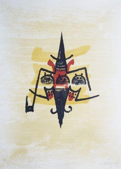 Lithographie Lam - El ultimo viaje del buque fantasma - 12