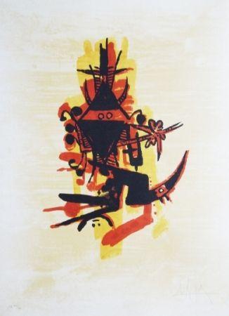 Lithographie Lam - El ultimo viaje del buque fantasma 10