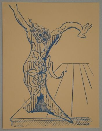 Lithographie Ernst - Electra