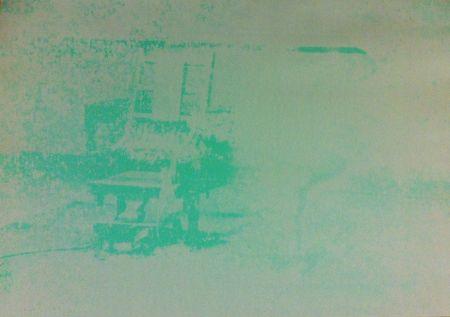 Sérigraphie Warhol - Electric Chair