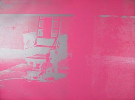 Sérigraphie Warhol - Electric Chair (FS II.75)