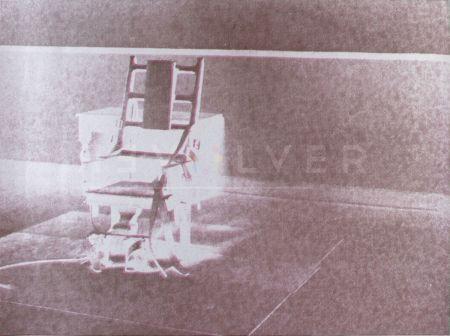 Sérigraphie Warhol - Electric Chair (FS II.78)