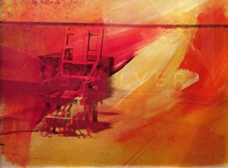 Sérigraphie Warhol - Electric Chair (FS II.81)