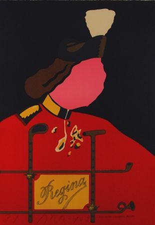 Lithographie Arroyo - Elizabetta esporte royale