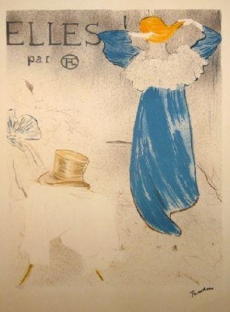 Lithographie Toulouse-Lautrec - Elles
