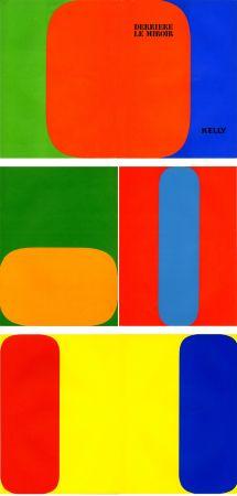 Livre Illustré Kelly - ELLSWORTH KELLY. Derrière Le Miroir n° 149. Octobre-novembre 1964. 5 LITHOGRAPHIES ORIGINALES.