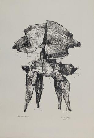 Lithographie Hadzi - Elmo Study