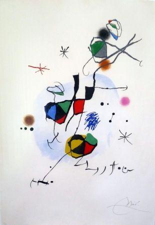 Eau-Forte Et Aquatinte Miró - Els Castellers