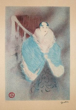 Lithographie Toulouse-Lautrec - Elsa la viennoise