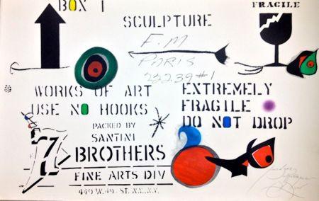 Eau-Forte Miró - Embalaje