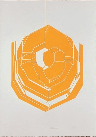 Lithographie Palazuelo - Emblema I