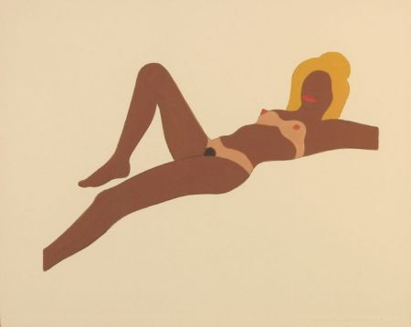 Aucune Technique Wesselmann - Embossed Nude #8 (study for The Great American Nude)